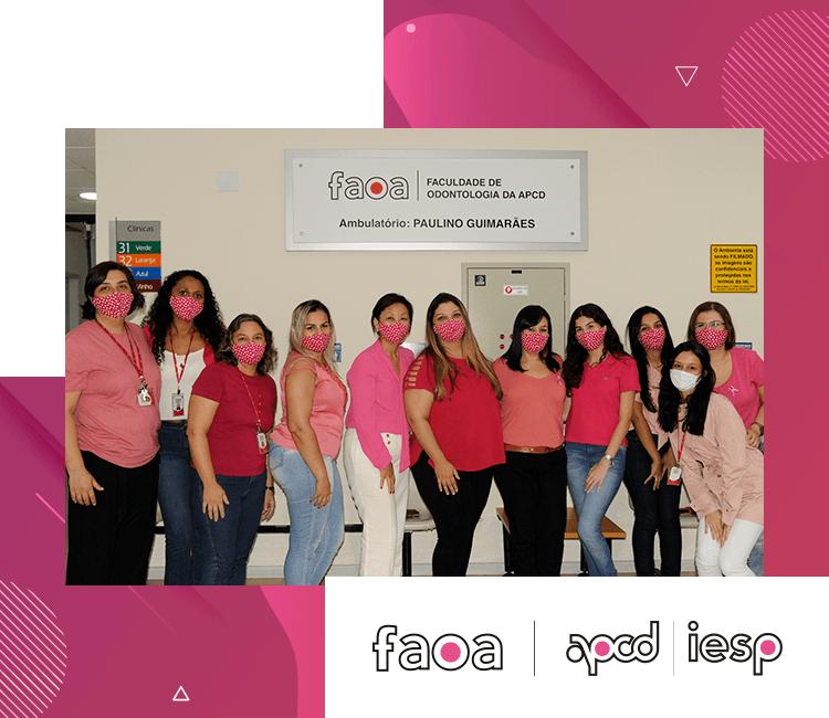 Outubro Rosa na FAOA/APCD-IESP